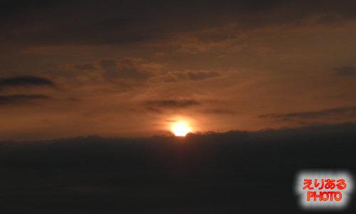 下田プリンスホテルで見た朝陽