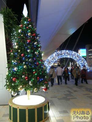 グランルーフクリスタルイルミネーション&恋愛成就祈願クリスマスツリー