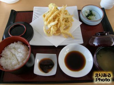 白海老天ぷらセット