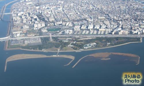 空から葛西臨海公園