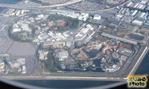 空から東京ディズニーリゾート