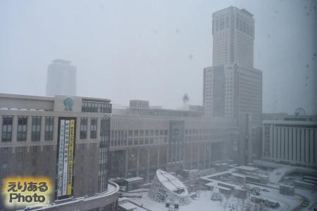 2016年12月10日大雪の札幌