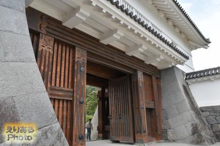 銅門(あかがねもん)@小田原城