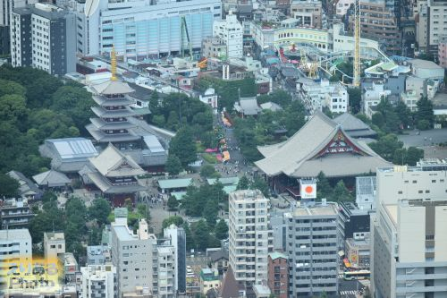 東京スカイツリー 天望デッキからの風景