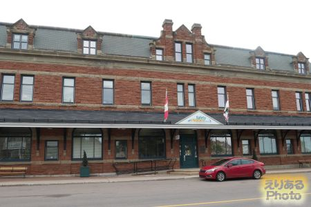The Charlottetown Railway Station(シャーロットタウン駅)