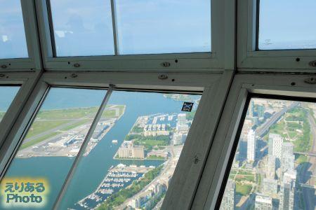 CNタワー  スカイポッド からの風景