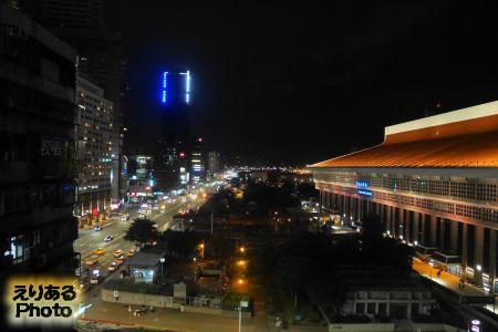 天成大飯店(COSMOS HOTEL)からの風景