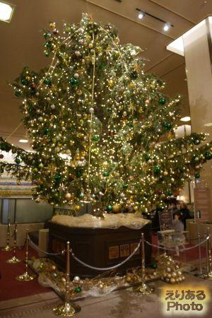 帝国ホテルのクリスマスツリー2018